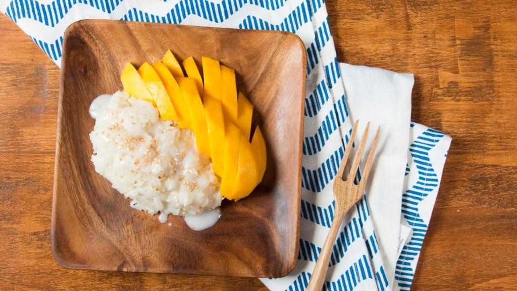 sticky rice ricetta