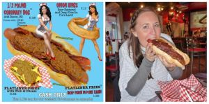 Heart Attack Grill hotdog mezzo kilo