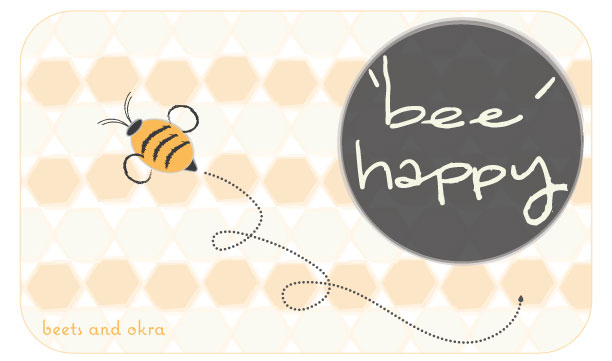 'bee' happy