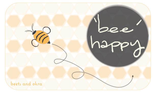'bee' happy