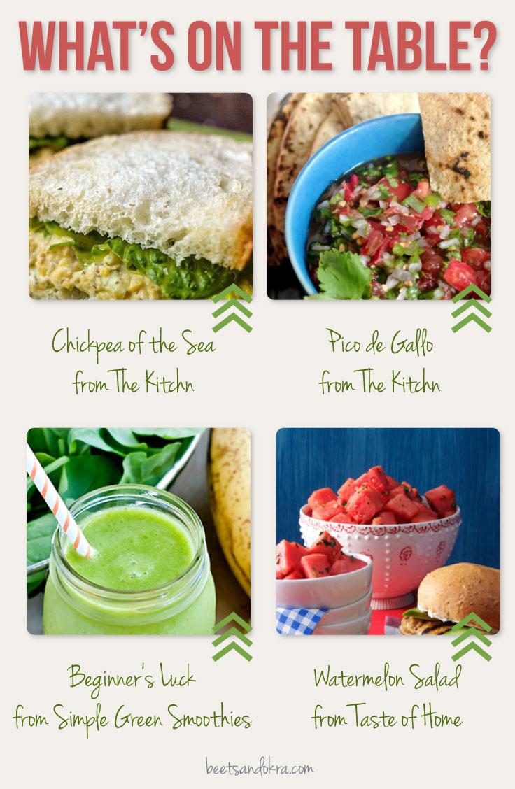 summer recipes ---> beets + okra