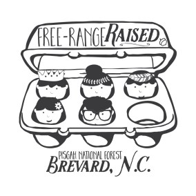 Free Range Raised Kids for Highline Ink | Brevard, NC
