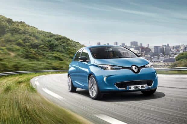 Renault Zoe meilleures-voitures-électriques