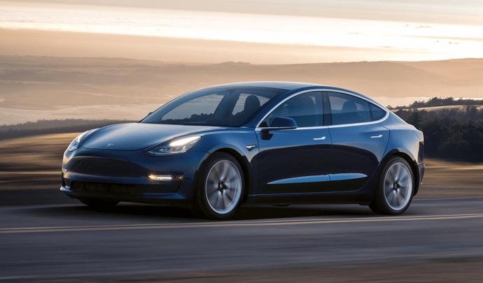 Véhicule électrique VTC : Tesla Model 3 Standard Range + 2019