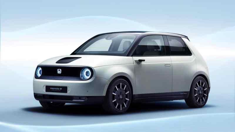 Voitures électriques 2020 : Honda e