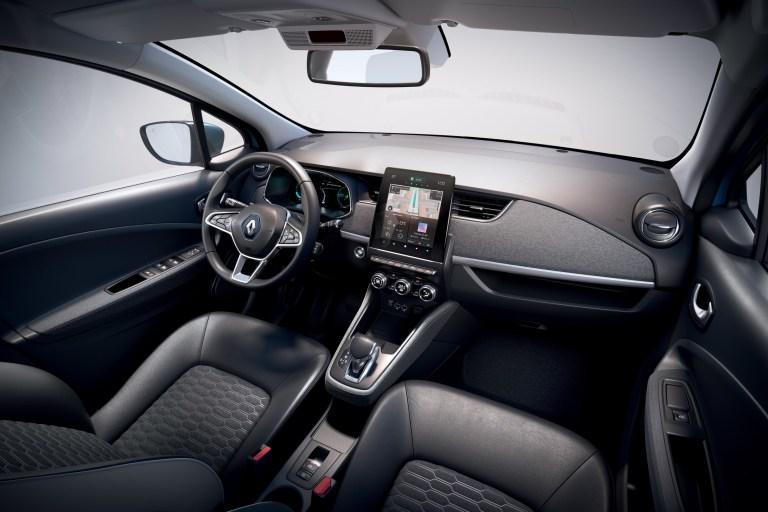 Essai Renault Zoé ZE50 intérieur
