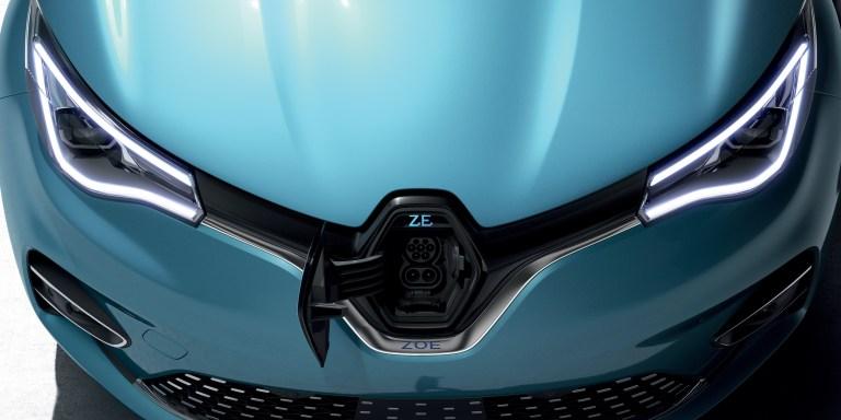 Renault Zoé ZE50 design