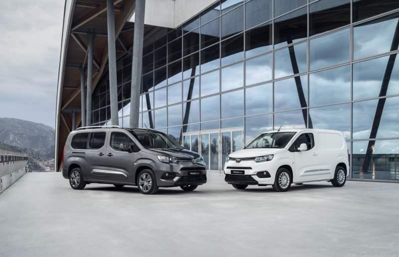 Utilitaires électriques 2020 - Toyota Proace électrique