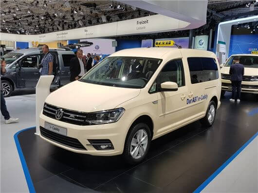 Utilitaires électriques 2020 : Volkswagen e-Caddy