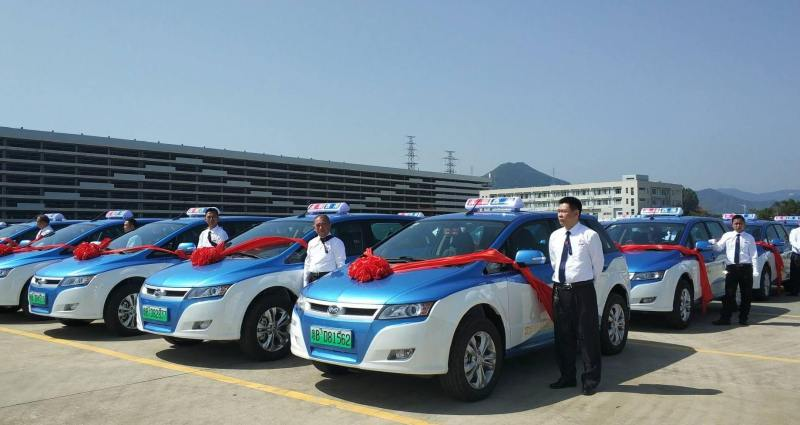 Les taxis électriques à Shenzhen 🇨🇳