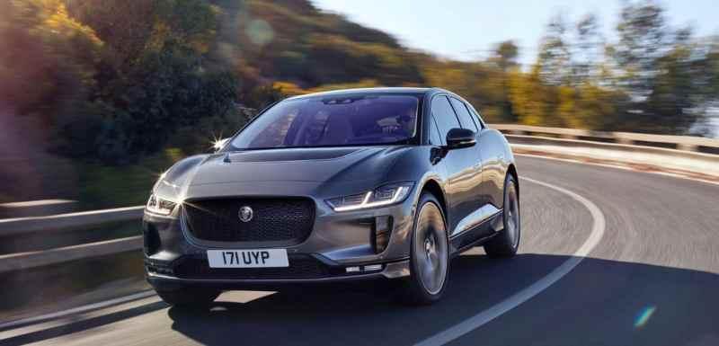 Les voitures électriques avec la meilleure autonomie Jaguar I-Pace