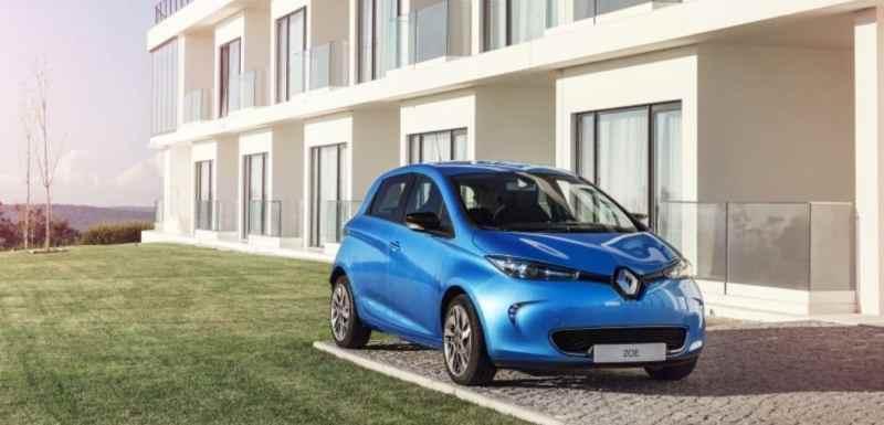 citadines électriques Renault Zoé ZE40 Q