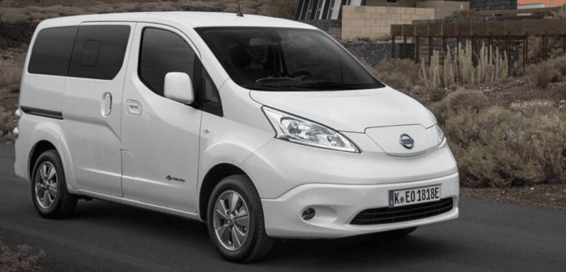 utilitaires électriques Nissan e-NV200 Evalia