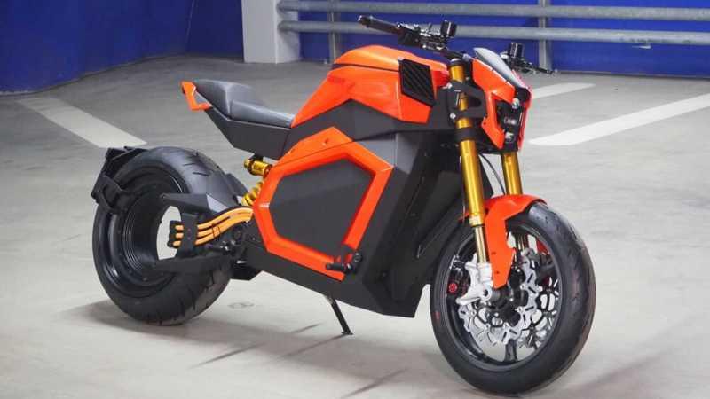 Meilleures motos électriques : Verge TS 2020