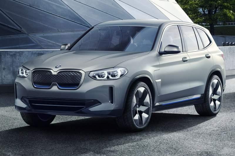 Voitures électriques 2021 BMW iX3