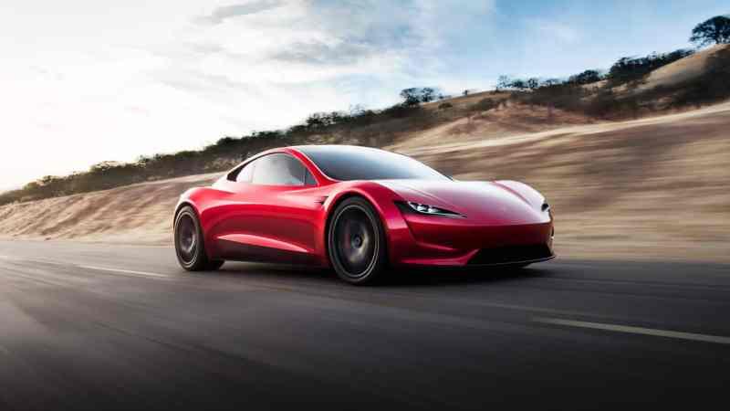 voiture-électrique-sportive_Tesla Roadster