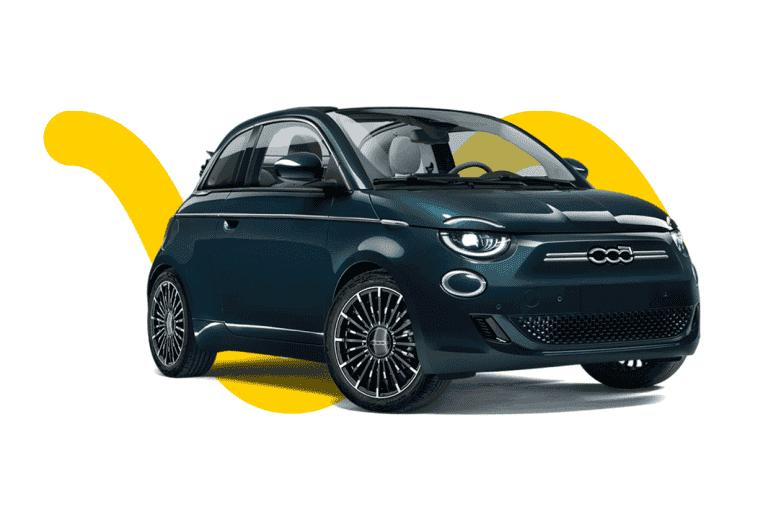 Les voitures électriques les moins chères - Fiat 500e