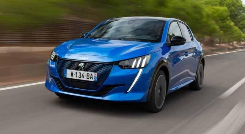 Peugeot voitures électriques