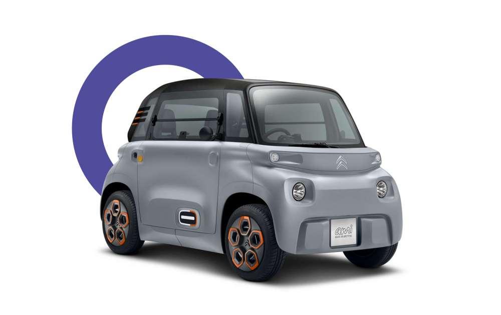 Citroën AMI petite voiture électrique