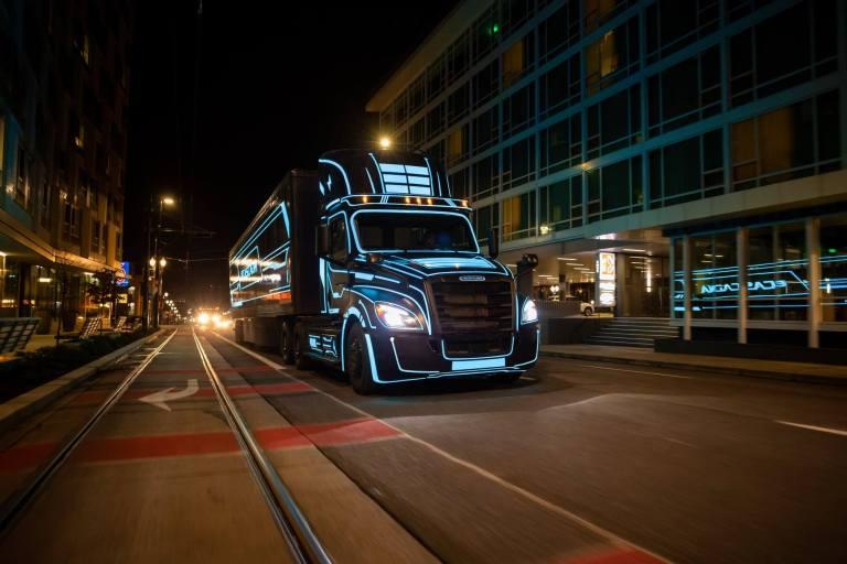 Camion électrique E cascadia