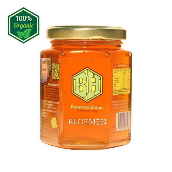 rauwe bloemen honing 250g