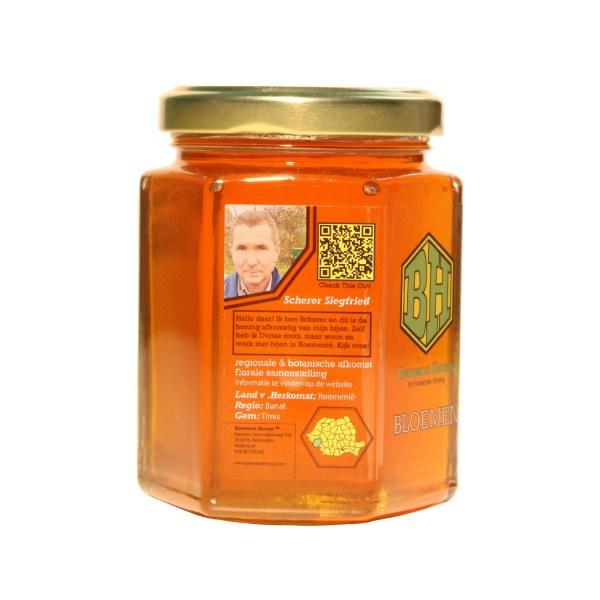 echte bloemen honing 250g