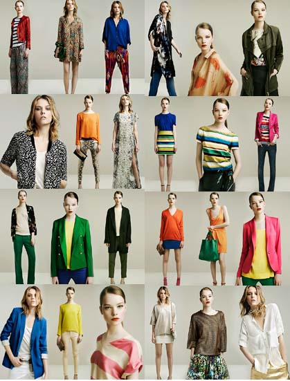 Zara summer 2011 2012 collection