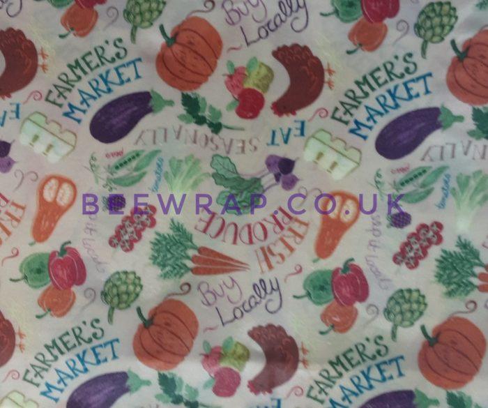Ex-large wrap, Farmers market design