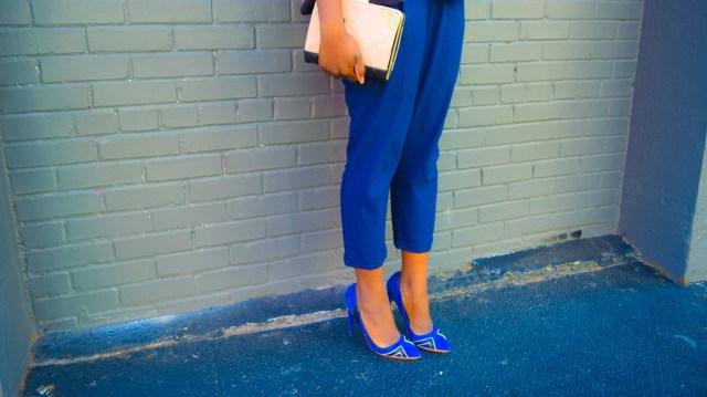 Befitting Style Oyinkan Wearing Lavender Navy Blue Cooler Spring 29