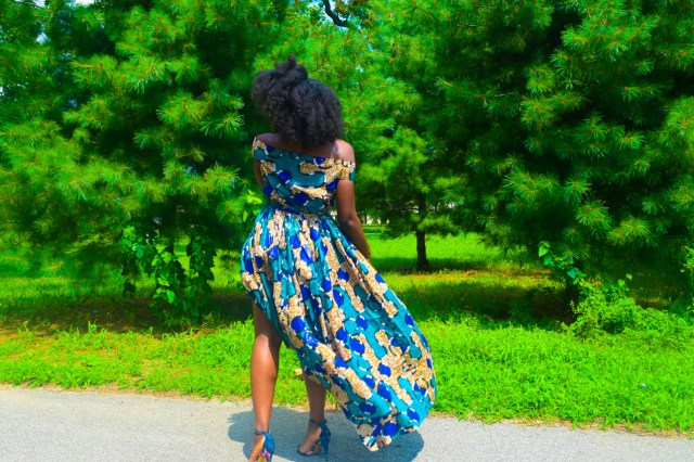Befitting Style Oyinkan Wearing Ankara Dress Wedding Guest 14
