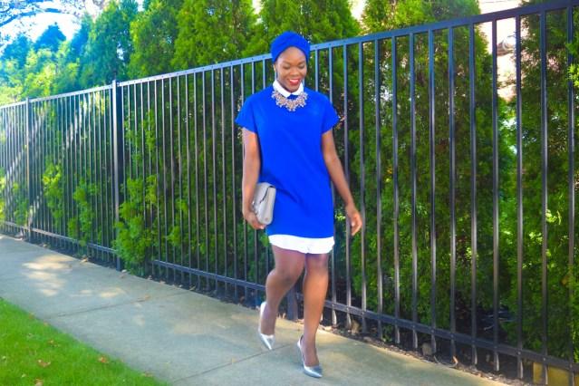 How I Style | Turban + Shirtdress