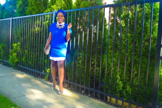 Befitting Style Oyinkan Wearing Turban + Shirtdress 2