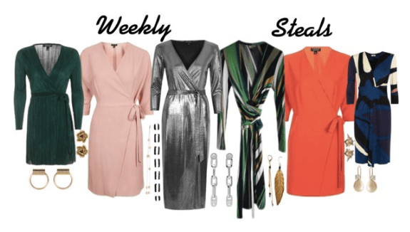 Weekly Steals | 42 Wrap Dresses Under $100 For Fall Of Course