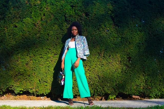 befitting-style-oyinkan-wearing-green-pants-blue-green-blazer-2