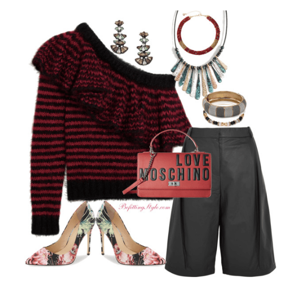 befitting-style-sweater-weather-red-black-stripe-with-culottes