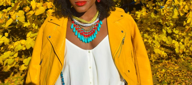 befitting-style-oyinkan-wearing-yellow-leather-jacket-blue-pants-23