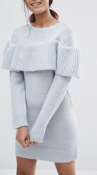 light-blue-sweater-dress