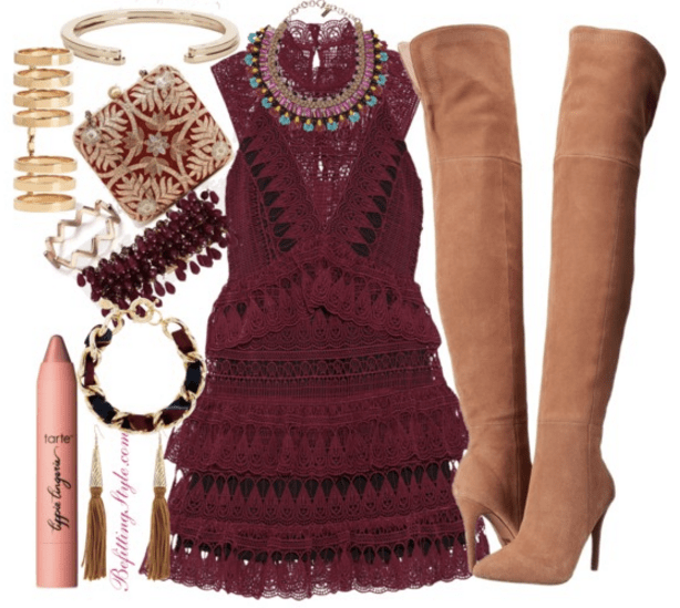 holiday-party-look-burgundy-befitting-style