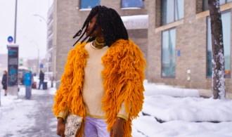 Custom Crochet Jacket | NYFW Day 1