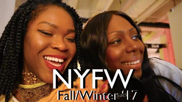 NYFW FW17 Recap/Vlog
