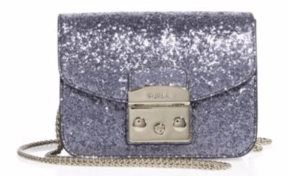 The Mini Glitter Crossbody Bag That Waits For No Occasion
