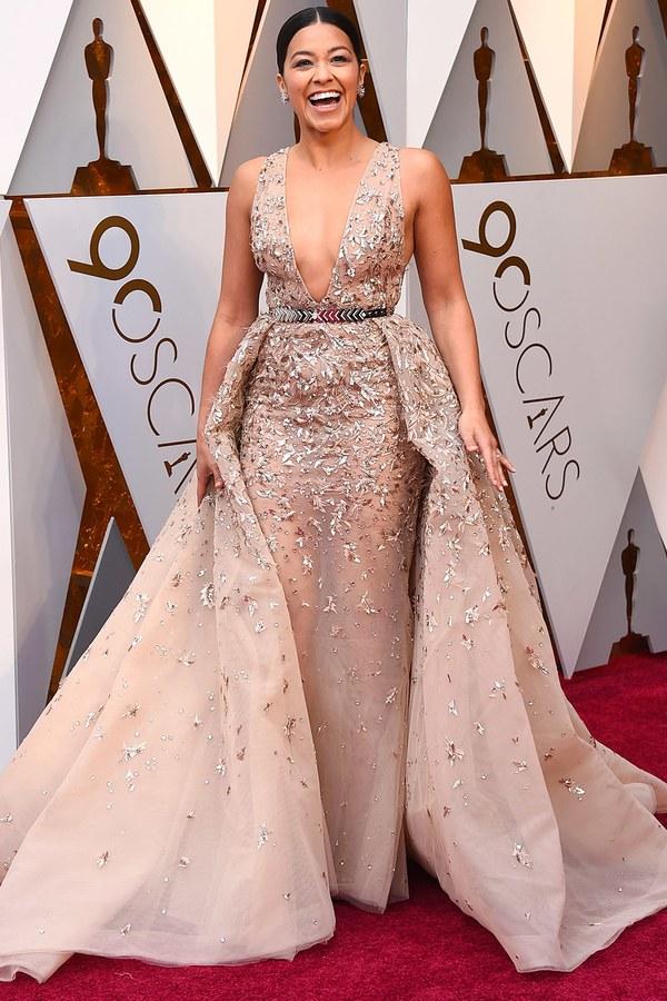 Oscars 2018 Best Dressed Gina Rodriguez