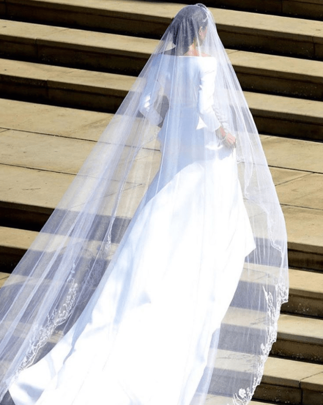 Royal Wedding - Meghan Markle - Givenchy