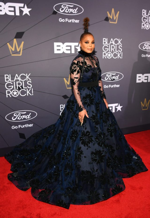 Janet Jackson Christian Siriano Black Girls Rock 2018