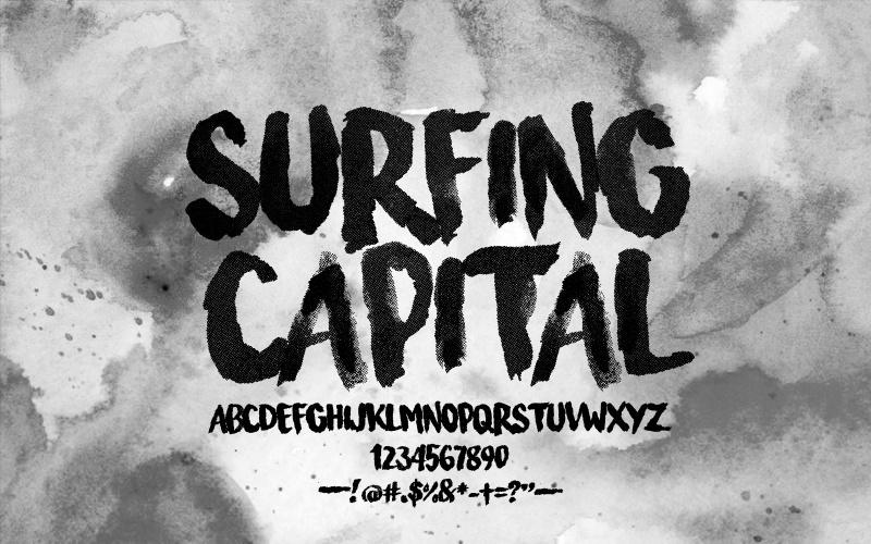 Download Surfing Capital font - Befonts.com