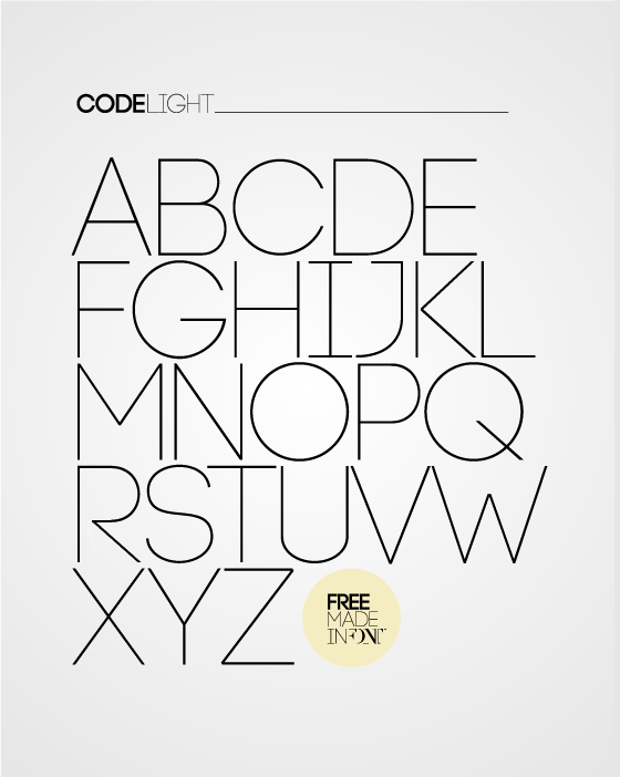 CODE Font Family