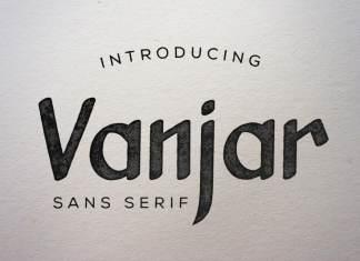 Vanjar Sans Serif Font
