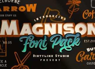 Magnison Script Font