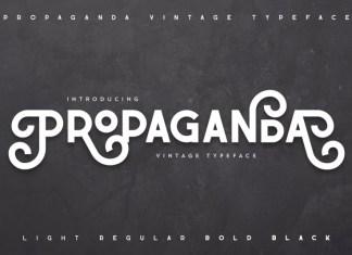Propaganda Vintage Font
