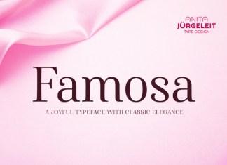Famosa Font Family